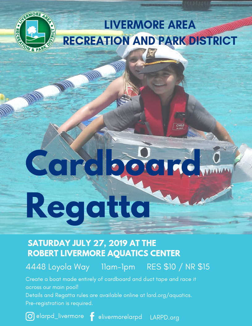 Cardboard Regatta Flyer