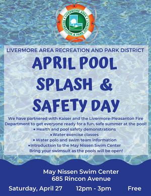 April Pool Splash Flyer