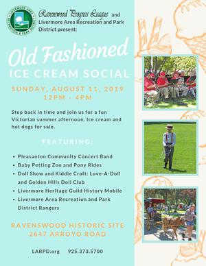 Ravenswood Ice Cream Social Flyer