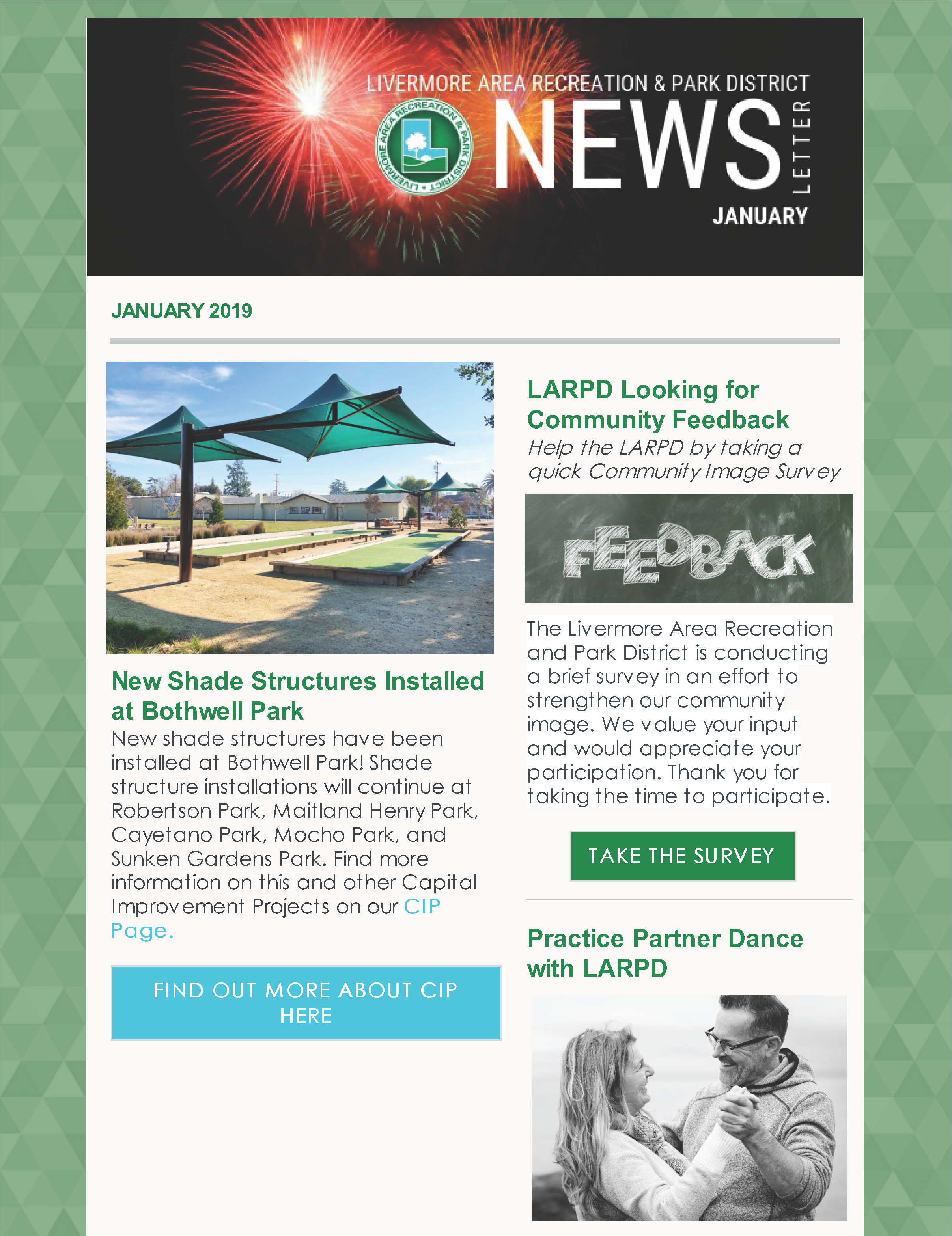 Cover LARPD Newsletter