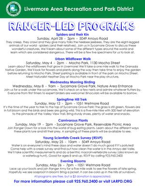 Ranger Led Programs Flyer